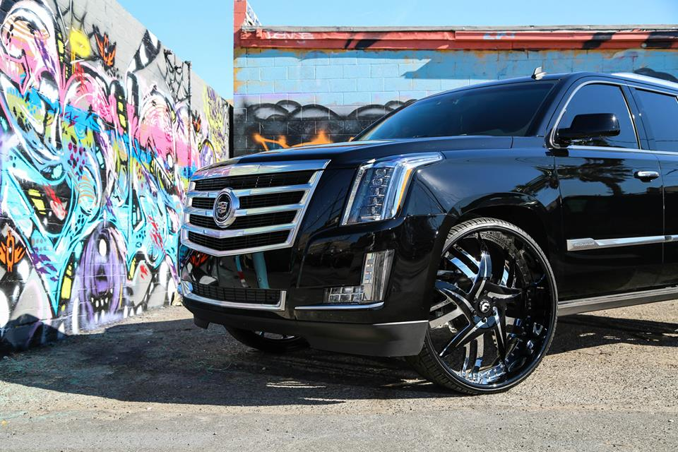 Tuningcars Cadillac Escalade On 30 Inch Forgiato Wheels