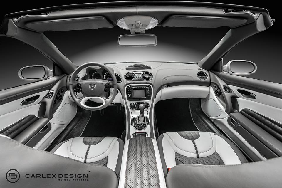 Carlex design mercedes sl interior package Interior design welcome packet