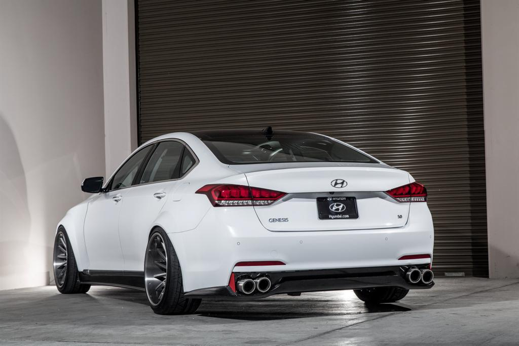 2014 Sema Hyundai Genesis And Sonata
