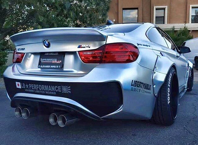 Sema Preview Liberty Walk Bmw M4