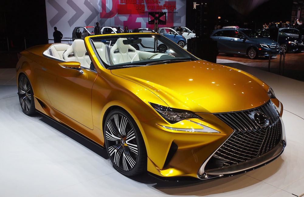 Up Close With Lexus Lf C2 At L A Auto Show