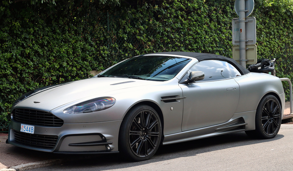 mansory aston martin db9 volante spotted in france. Black Bedroom Furniture Sets. Home Design Ideas