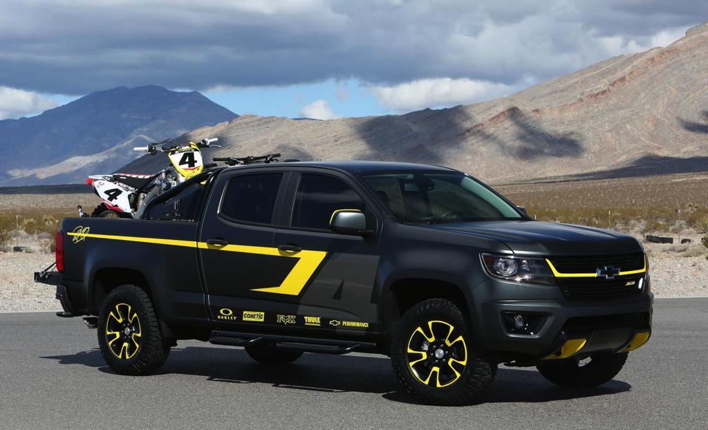 Tuningcars: Custom Chevy Colorado by Ricky Carmichael