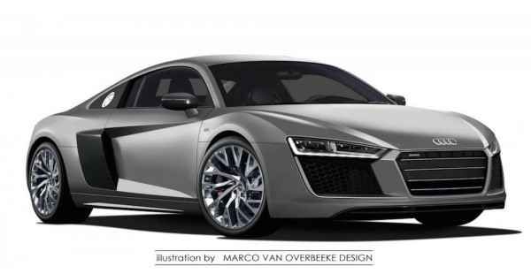 2015 Audi R8 0 600x310 at 2015 Audi R8: This is   Probably   It!