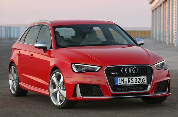 2015 Audi RS3 Revealed with 367 Horsepower