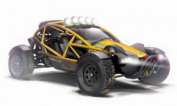 Ariel Nomad 1 600x361 at Ariel Nomad Off Roader Unveiled