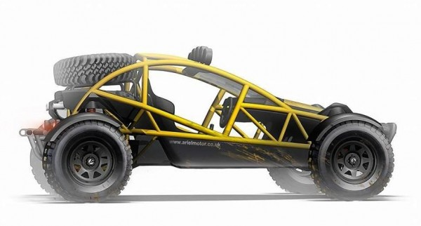 Ariel Nomad 2 600x322 at Ariel Nomad Off Roader Unveiled