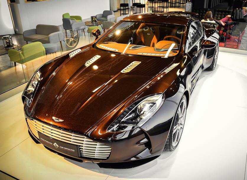 Dark Brown Aston Martin One 77 Spotted For Sale
