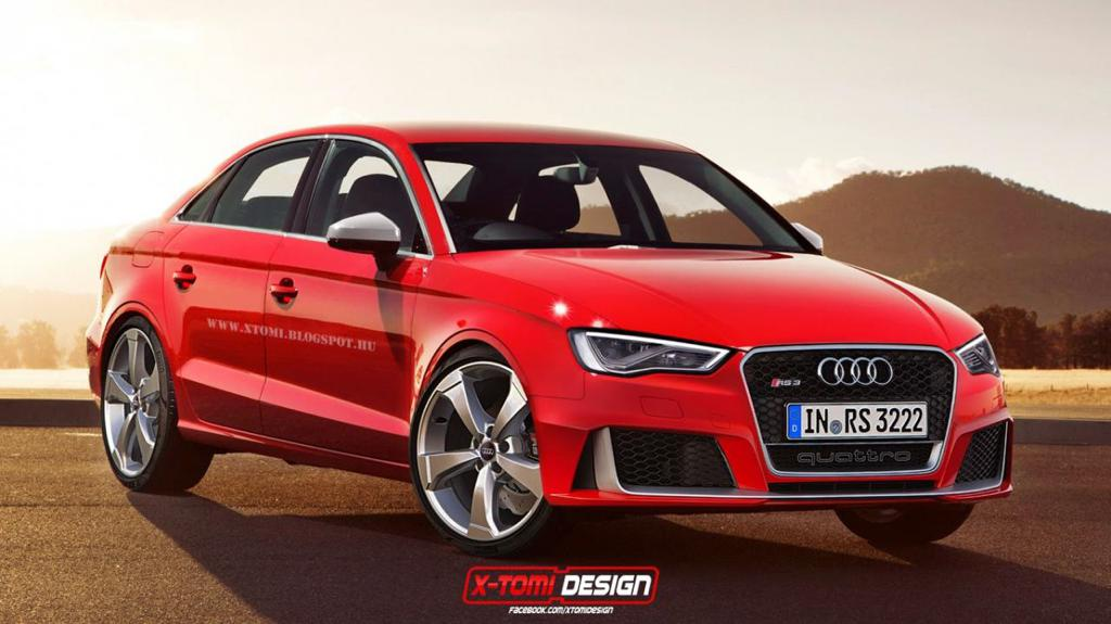 Фото | Седан Audi RS3, неофициально от X-Tomi Design
