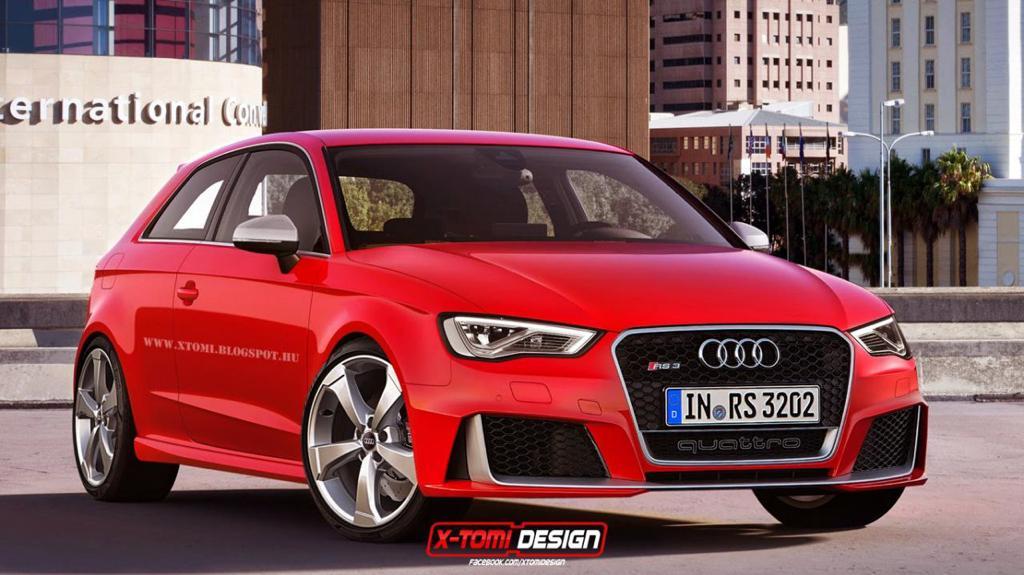 Фото | Хэтчбек Audi RS3, неофициально от X-Tomi Design