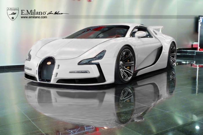 Новый суперкар Bugatti вместо Veyron, неофициально