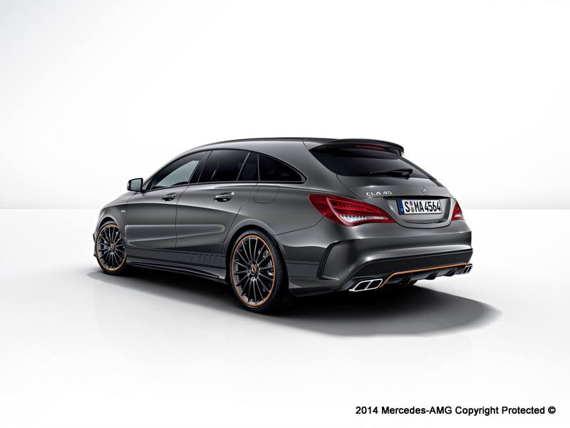 mercedes cla 45 amg shooting brake orangeart. Black Bedroom Furniture Sets. Home Design Ideas