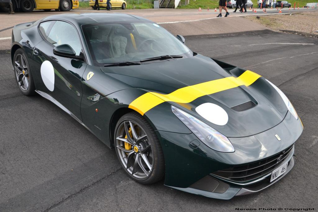 Ferrari F12 Spotted With Historic Racing Livery