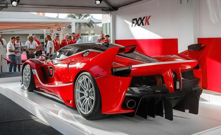 Ferrari Fxx K Live Photos