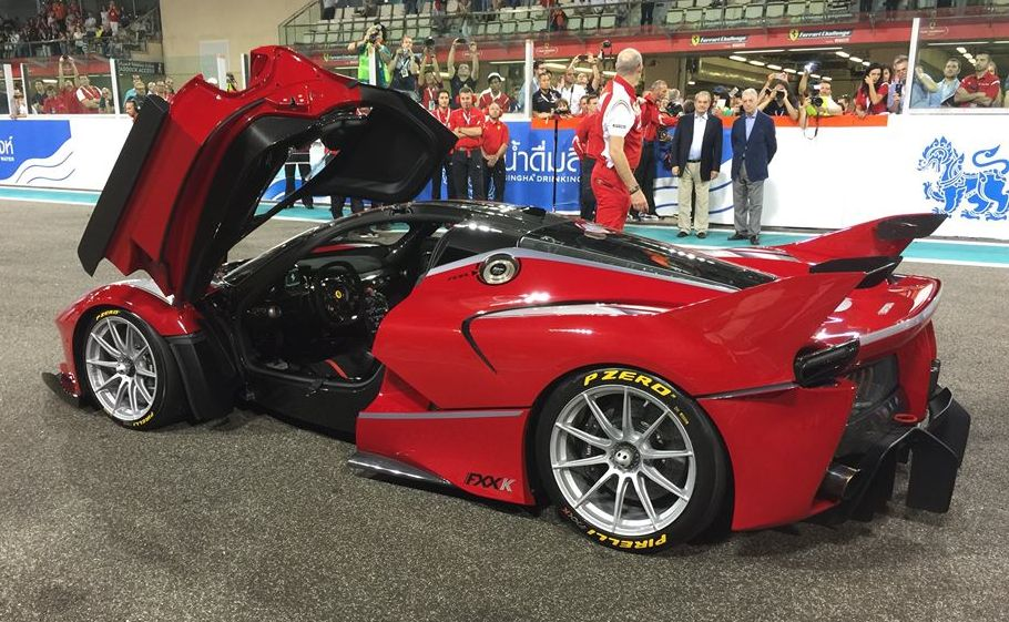Sights And Sounds Ferrari Fxx K