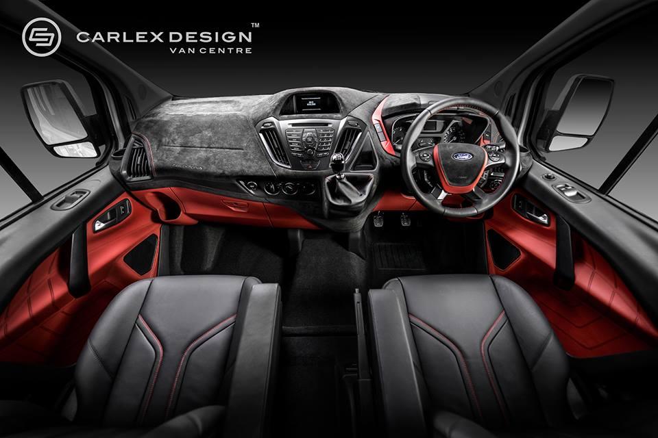 Black Ford Edge 2014 >> Ford Transit by Carlex Design UK
