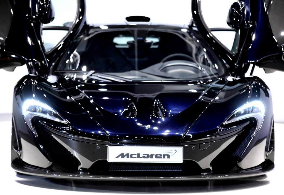 Mclaren P1 Black Rear Mclaren P1 Black Rear 2014 | Car ...