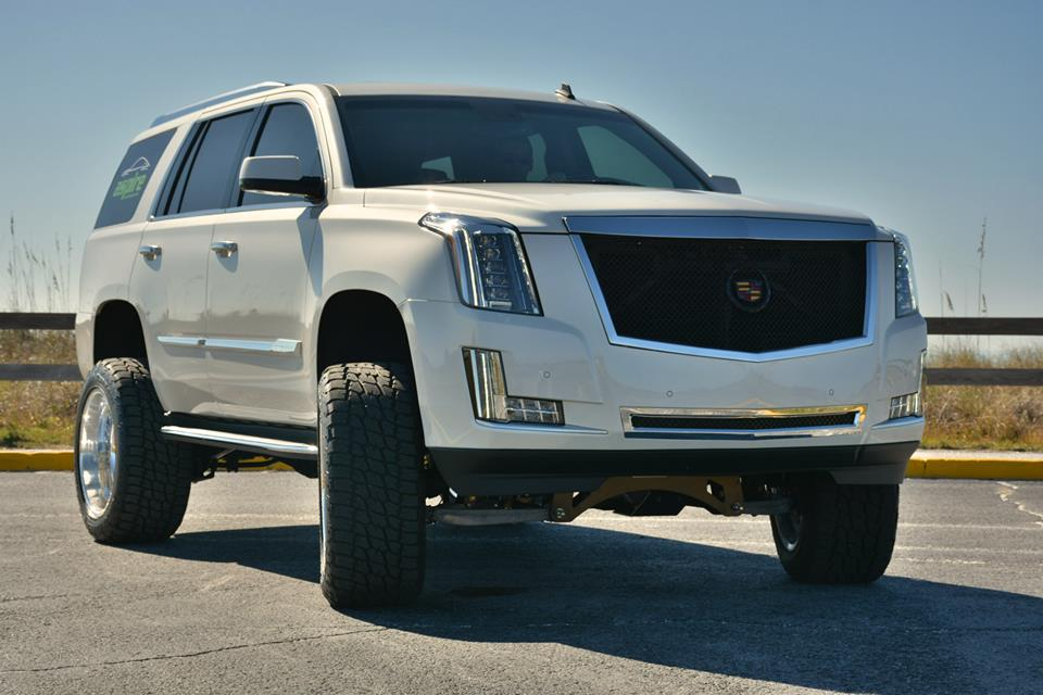 World S First Lifted 2015 Cadillac Escalade