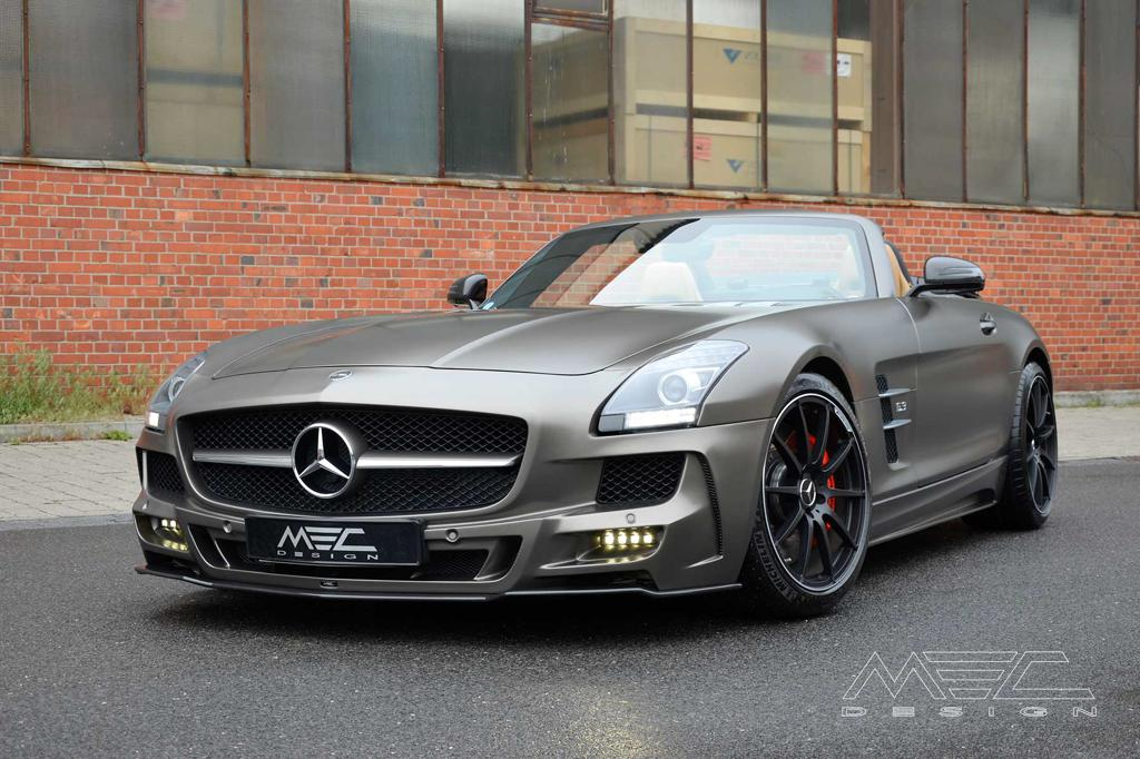 Tuningcars Mec Design Mercedes Sls Roadster In Monza Grey