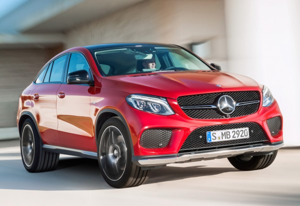 Official: Mercedes GLE Coupe
