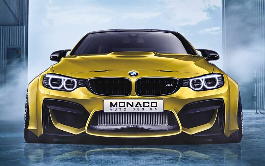 Super Wide Monaco Auto Design Bmw M4