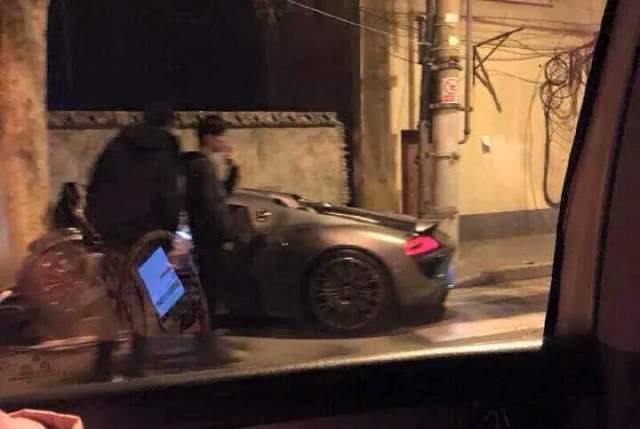 porsche 918 spyder wrecked in shanghai crash. Black Bedroom Furniture Sets. Home Design Ideas