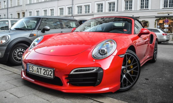 Red Porsche 991 Turbo S 0 600x358 at Tomato Red Porsche 991 Turbo S Looks Delicious!
