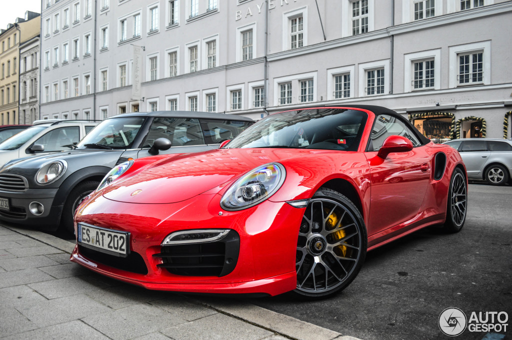 tomato red porsche 991 turbo s looks delicious. Black Bedroom Furniture Sets. Home Design Ideas