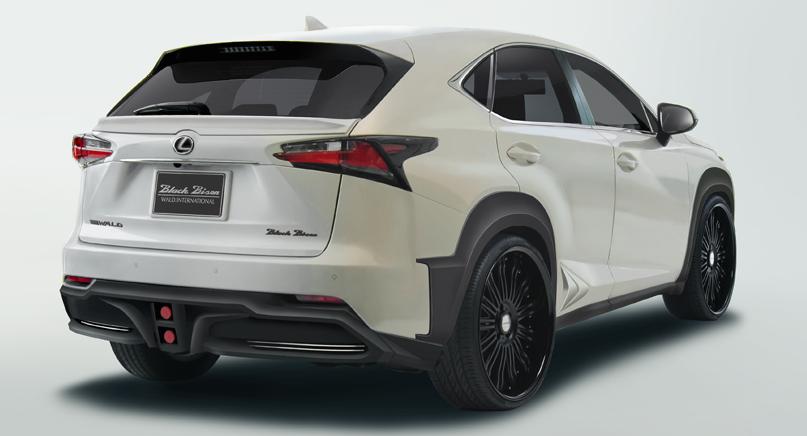 Preview Wald Lexus Nx Black Bison