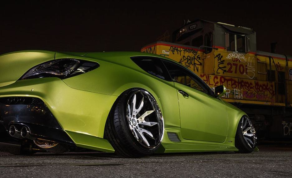 Custom Wide Body Hyundai Genesis Coupe
