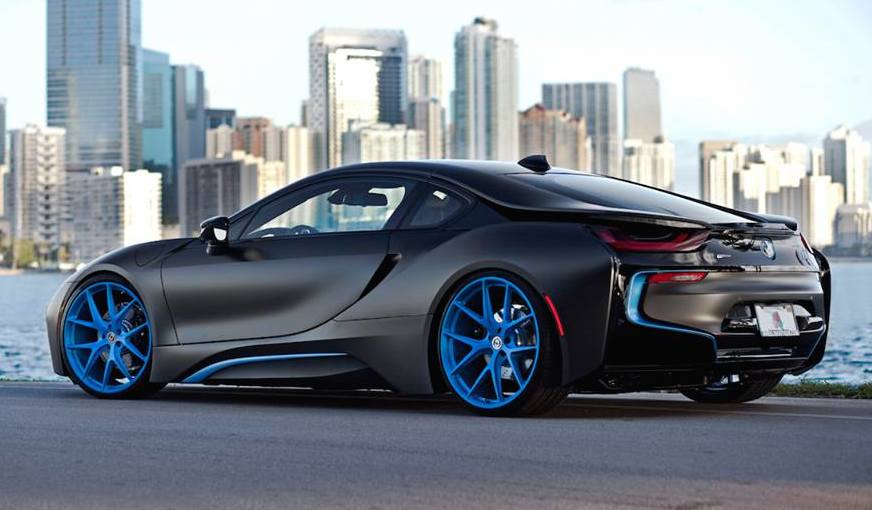 Bmw I8 Hre Blue 00 600x350 At Gallery BMW On HRE Wheels