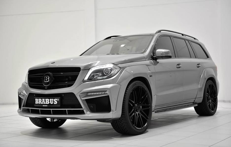 brabus mercedes gl63 widestar in silver. Black Bedroom Furniture Sets. Home Design Ideas