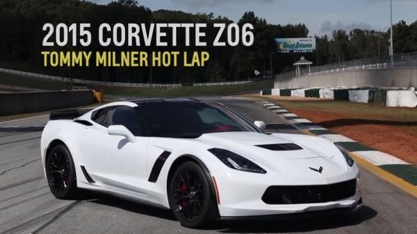 corvette z06 lap 600x337 at Tommy Milner Demos Corvette Z06 Capabilities at Road Atlanta