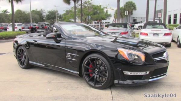 mercedes sl65 amg 600x337 at Sights and Sounds: 2015 Mercedes SL65 AMG