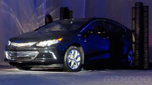 Model First Look 2016 Chevrolet Volt  Motorward
