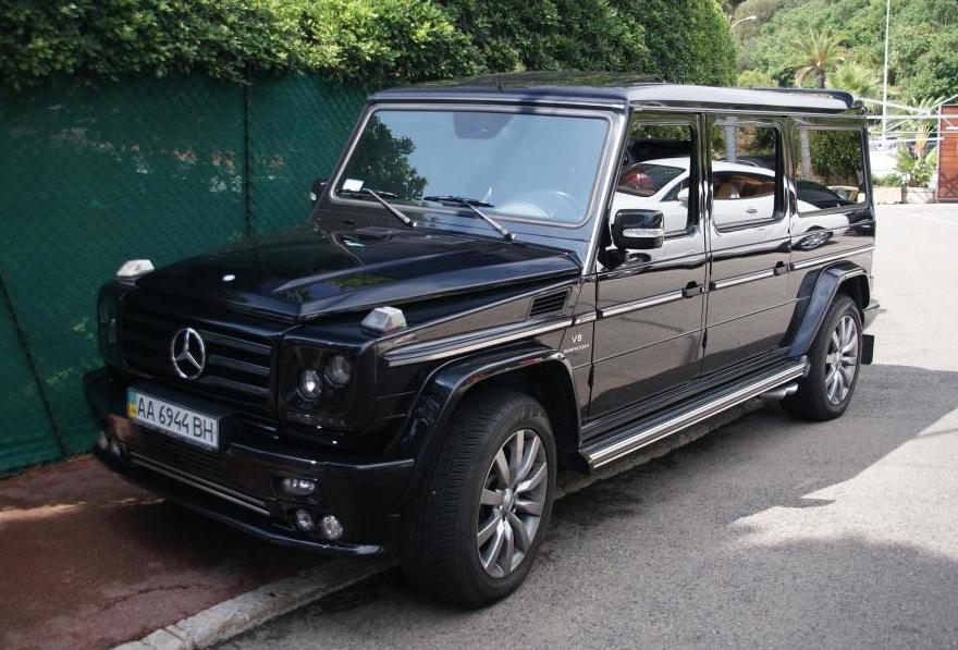 Tuningcars Art Mercedes G55 Amg Long Spotted In France