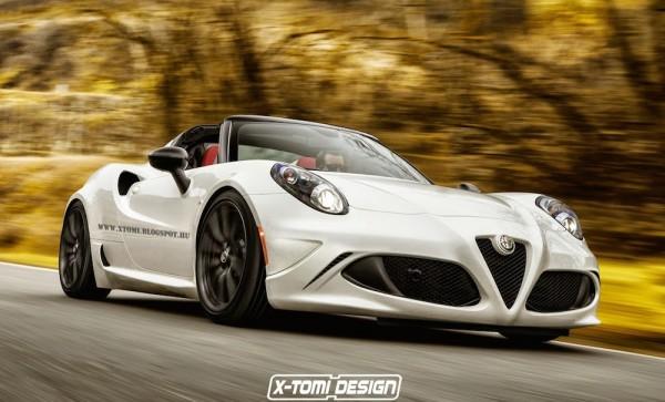 Alfa Romeo 4C Spider GTA-1
