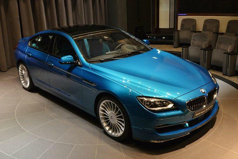 BMW Alpina B6 >> Gallery: Turquoise Blue Alpina B6 Gran Coupe