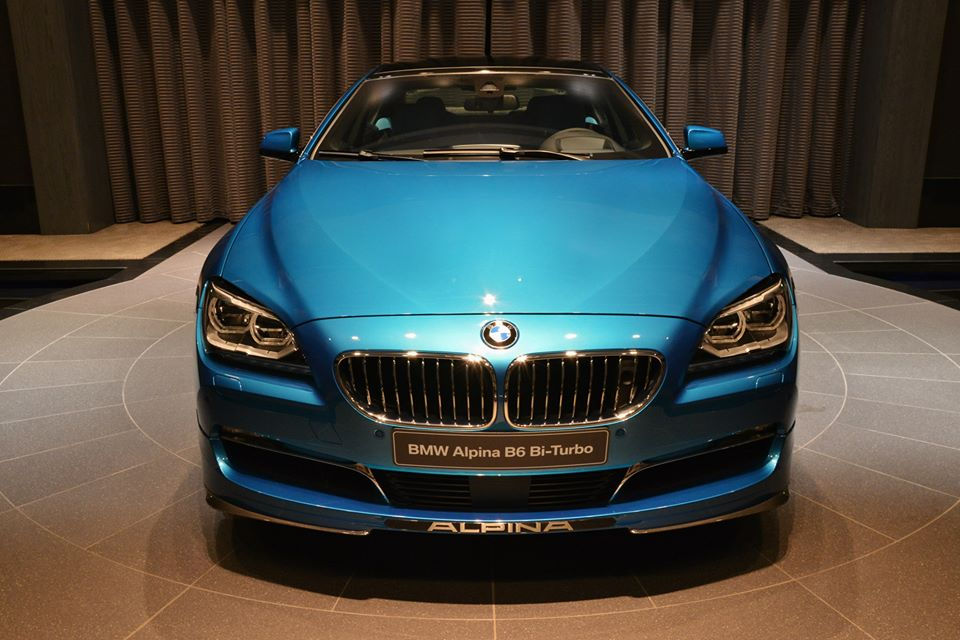 Gallery: Turquoise Blue Alpina B6 Gran Coupe