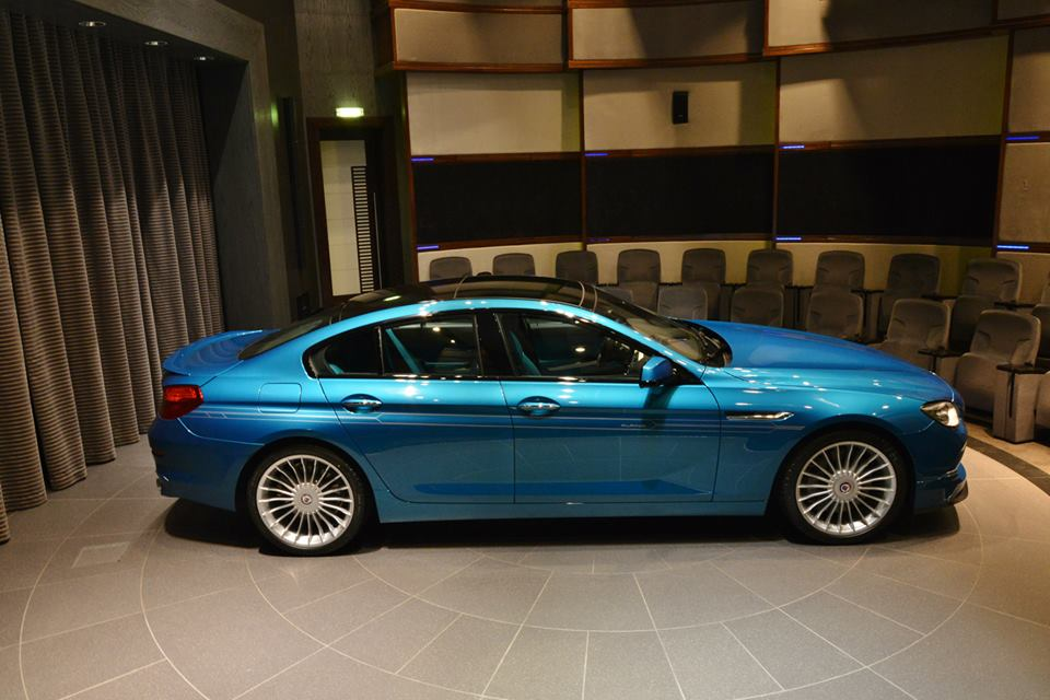 gallery turquoise blue alpina b6 gran coupe. Black Bedroom Furniture Sets. Home Design Ideas