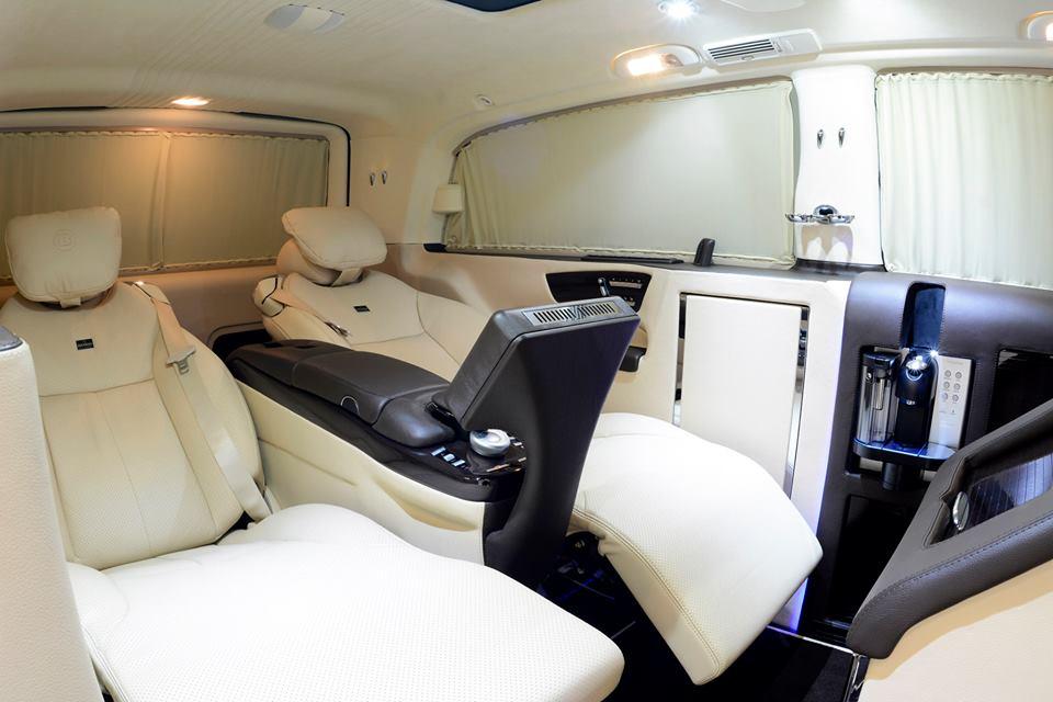 tuningcars brabus viano ibusiness interior detailed. Black Bedroom Furniture Sets. Home Design Ideas