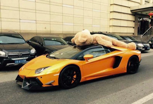 DMC Aventador Teddy Bear-0