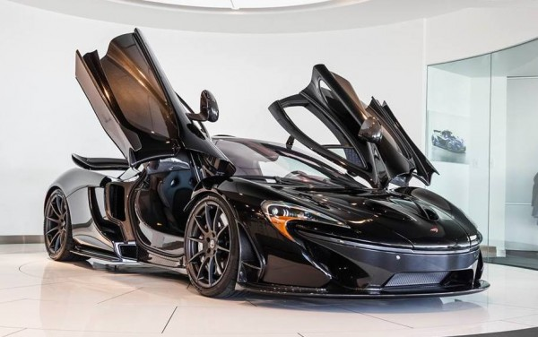 Fire Black McLaren P1 0 600x376 at Up Close with Fire Black McLaren P1