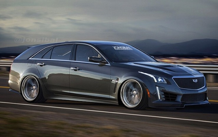 Cadillac Cts V Gangsta Caddy Wagon