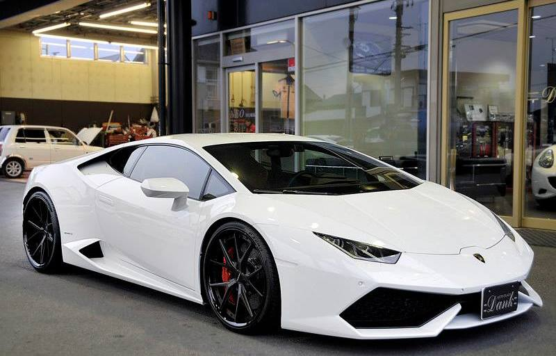 lamborghini huracan white - photo #30