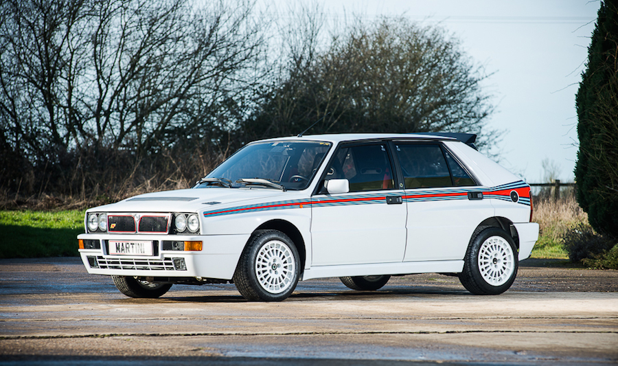 Lancia Delta Integrale 1 at Brand New Lancia Delta Integrale Up for Grabs