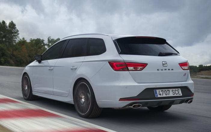 seat leon st cupra 280 uk prices specs. Black Bedroom Furniture Sets. Home Design Ideas