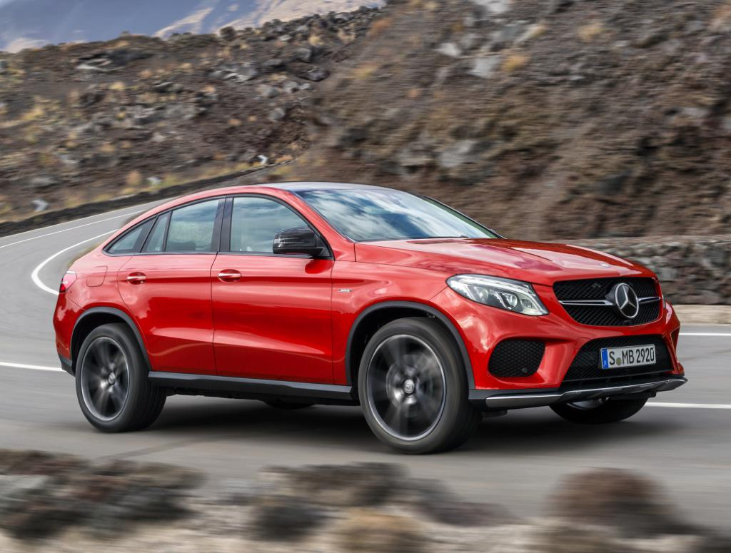 Mercedes Gle 450 Amg Bows At Naias