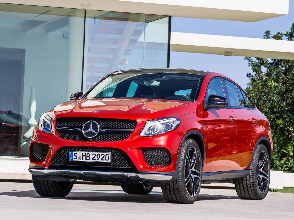 mercedes gle 450 amg bows at naias. Black Bedroom Furniture Sets. Home Design Ideas