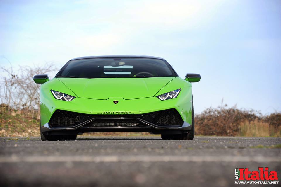Lamborghini Huracan в доводке от Oakley Design